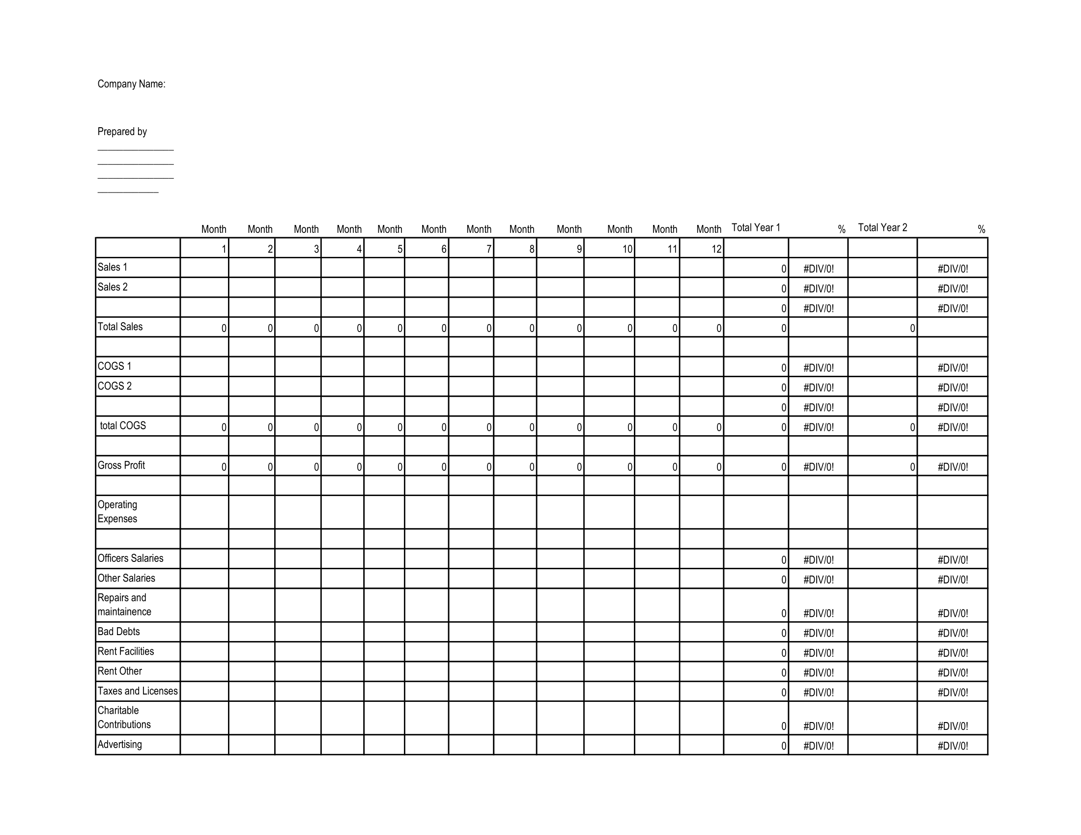 SBA Projection Template-1